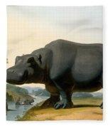 The Hippopotamus, 1804 Fleece Blanket
