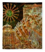 The History Of Consciousness Fleece Blanket