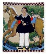 The Hobby Horse Fleece Blanket