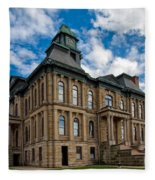 The Holmes County Courthouse Fleece Blanket