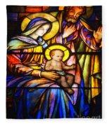 The Holy Child Fleece Blanket
