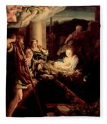 The Holy Night Fleece Blanket