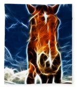 The Horse Fleece Blanket