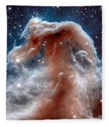 The Horsehead Nebula Fleece Blanket