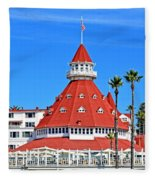 The Hotel Of Hotels Fleece Blanket