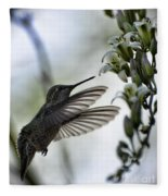 The Hummingbird  Fleece Blanket
