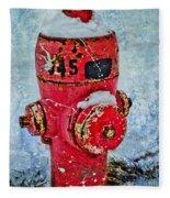 The Hydrant Fleece Blanket