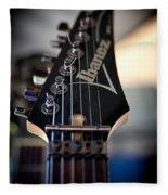 The Ibanez Guitar Fleece Blanket