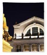 The Illumination Of Saint Louis Ix Fleece Blanket