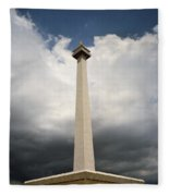 The Independence Monument Fleece Blanket