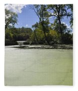 The Indiana Wetlands Fleece Blanket
