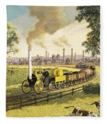 The Industrial Revolution Fleece Blanket