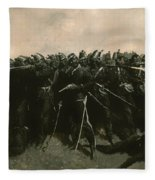 The Infantry Square Fleece Blanket