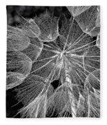 The Inner Weed Monochrome Fleece Blanket