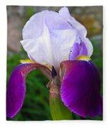 The Iris Fleece Blanket