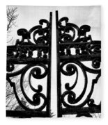 The Iron Gate Fleece Blanket