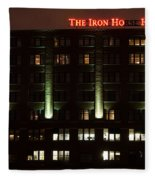 The Iron Horse Hotel Fleece Blanket