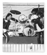 The J. Geils Band Rock Out In Oakland In 1976 Fleece Blanket