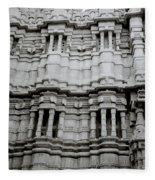 The Jain Temple Fleece Blanket