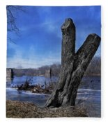 The James River One Fleece Blanket