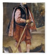 The Jester Named Don John Of Austria Fleece Blanket