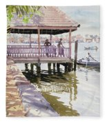 The Jetty Cochin Fleece Blanket