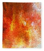 The Journey - Abstract Art By Sharon Cummings Fleece Blanket