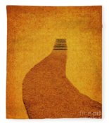 The Journey Wall Art  Fleece Blanket