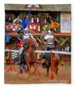 The Jousters 2 Fleece Blanket