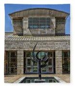 The Jule Collins Smith Museum Of Fine Art Fleece Blanket
