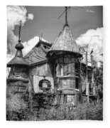 The Junk Castle Iv Fleece Blanket
