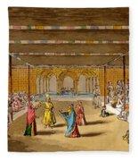 The Junumushtoomee, 19th Century Fleece Blanket