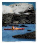 The Kayaker Fleece Blanket