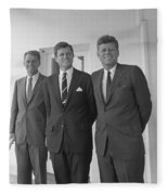 The Kennedy Brothers Fleece Blanket