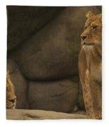 The King And His Queens Fleece Blanket