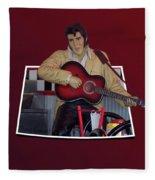 The King Elvis Fleece Blanket
