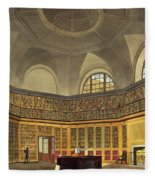 The Kings Library Fleece Blanket