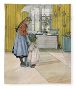 The Kitchen From A Home Series Fleece Blanket