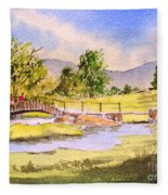 The Lake District - Slater Bridge Fleece Blanket