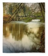 The Lambro River Fleece Blanket