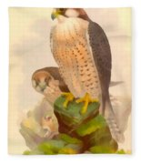The Lanner Falcon Fleece Blanket