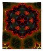 The Last Flower II Fleece Blanket