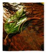 The Last Leaf Fleece Blanket