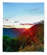 The Last Rays Fleece Blanket