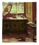 The Lawn Tennis Season, 1881 Fleece Blanket