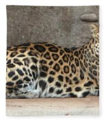 The Leopard Fleece Blanket