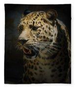 The Leopard Fleece Blanket