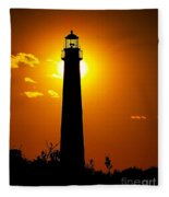 The Light Of Cape May Fleece Blanket