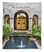 The Lightner Museum Fleece Blanket