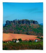 The Lilienstein Fleece Blanket